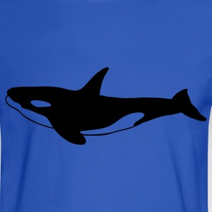 Orca (Killer Whale) 1c - Men's Long Sleeve T-Shirt