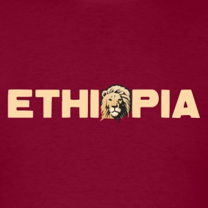 ethiopiatext Hoodies - Men's T-Shirt