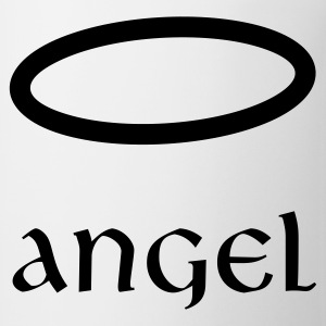 Angel - long sleeve one piece - Coffee/Tea Mug