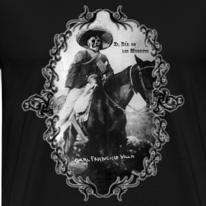 Black Pancho Villa's Long Sleeve Shirts - Men's Premium T-Shirt