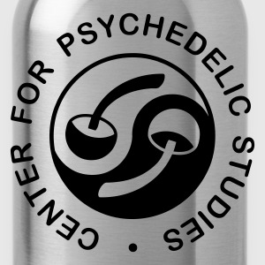 Psychedelic Studies - monochrome - Water Bottle