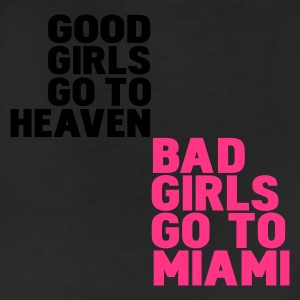 White bad girls go to miami Hoodies - Leggings