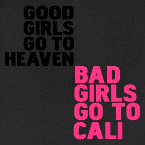 White bad girls go to cali Hoodies - Leggings