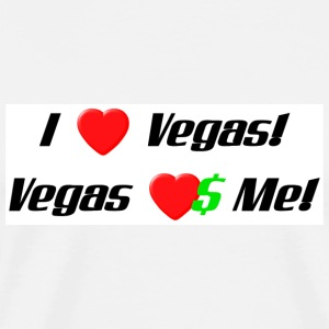 I Love Vegas! - Men's Premium T-Shirt