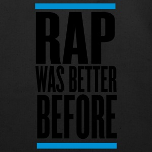 Black rap was better before Hoodies - Eco-Friendly Cotton Tote