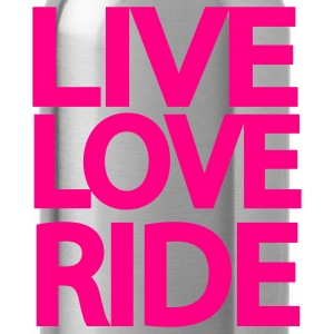 Live Love Ride Long Sleeve Shirt - Water Bottle