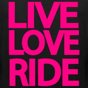 Live Love Ride Long Sleeve Shirt - Men's Premium Tank