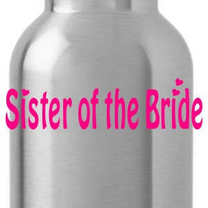 Black Sister of the Bride Women's T-Shirts - Water Bottle