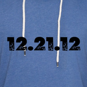 Spider baby blue 12.21.12 2012 The End of the World? T-Shirts - Unisex Lightweight Terry Hoodie