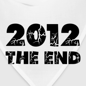 White 2012 The End Kids' Shirts - Bandana