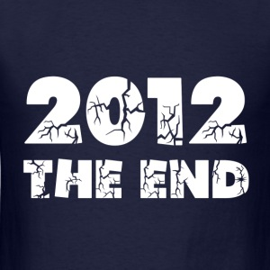 Navy 2012 The End Sweatshirts - Men's T-Shirt