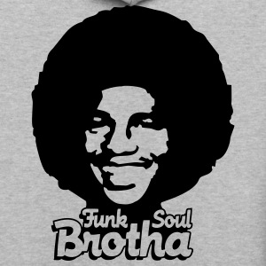 Light oxford funk_soul_brotha_1c T-Shirts - Contrast Hoodie
