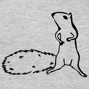 Slate squirrel T-Shirts - Women's Long Sleeve Jersey T-Shirt