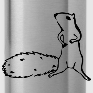 Slate squirrel T-Shirts - Water Bottle