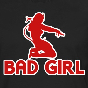 Bad Naughty Girl - Men's Premium Long Sleeve T-Shirt