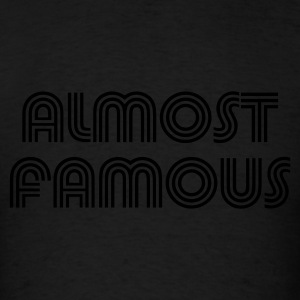 Black almost_t_11 Hoodies - Men's T-Shirt