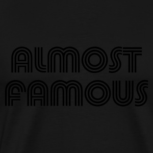 Black almost_t_11 Hoodies - Men's Premium T-Shirt