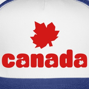 White red_canadian_maples Hoodies - Trucker Cap