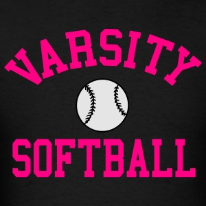 Varsity Softball Hoodie - Men's T-Shirt