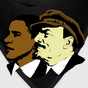 Red Obama & Lenin Socialists T-Shirts - Bandana