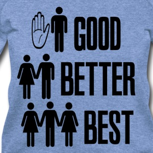 Spider red Good Better Best Sex T-Shirts - Women's Wideneck Sweatshirt