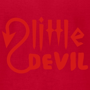 Red little devil Baby Body - Men's T-Shirt by American Apparel