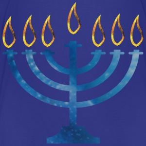 Navy MENORAH Sweatshirts - Toddler Premium T-Shirt