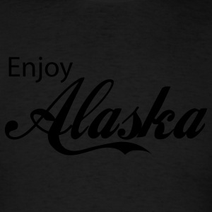 Black alaska Hoodies - Men's T-Shirt