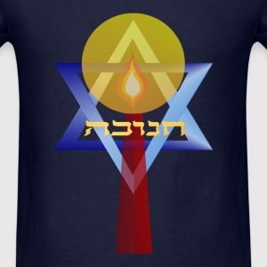 A Star and Candle - Men's T-Shirt