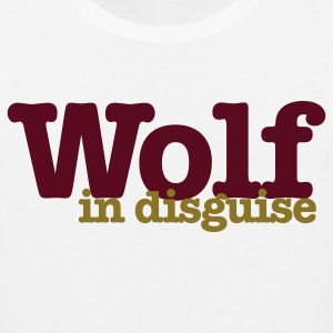 White wolf in disguise Women's T-Shirts - Men's Premium Tank