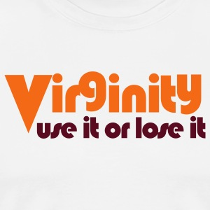 White virginity use it or lose it Tanks - Men's Premium T-Shirt