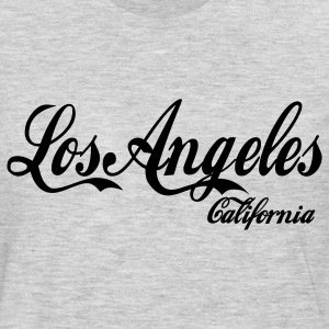 Heather grey los angeles california Women's T-Shirts - Men's Premium Long Sleeve T-Shirt