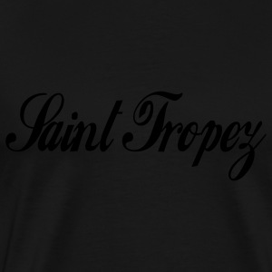 Black saint tropez Hoodies - Men's Premium T-Shirt