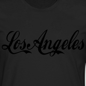 White/navy los angeles T-Shirts - Men's Premium Long Sleeve T-Shirt