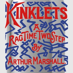 Kinklets a Ragtime Two Step T-Shirts - Water Bottle