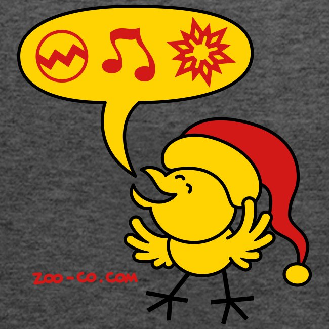 Christmas Chicken making a Wish!
