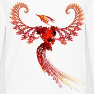 Phoenix Fractal - Women's - Men's Premium Long Sleeve T-Shirt