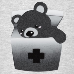 The stuffed toy of the bear - Men's T-Shirt