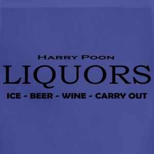 Navy Poon Liquors T-Shirts - Adjustable Apron