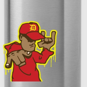 Grafitti style hip hop Gangster - Water Bottle