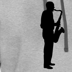 Light oxford sax player T-Shirts - Contrast Hoodie