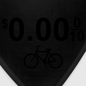 $0.00 Bicycle Bike Green 1c - Bandana