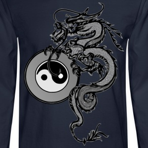 Men's Tai Chi Dragon - Men's Long Sleeve T-Shirt