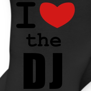 White I Love the DJ Women's T-Shirts - Leggings