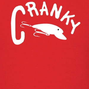 Red CRANKY Hoodies - Men's T-Shirt