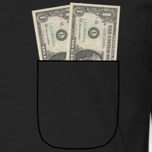 money shirt - Men's Premium Long Sleeve T-Shirt
