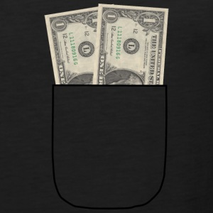 money shirt - Men's Premium Tank