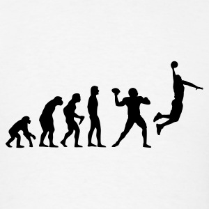 Evolution of Basketball - Men's T-Shirt