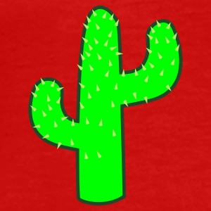 Red cactus Other - Men's Premium T-Shirt