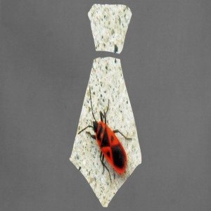 Khaki Stink Bug Necktie T-Shirts - Adjustable Apron